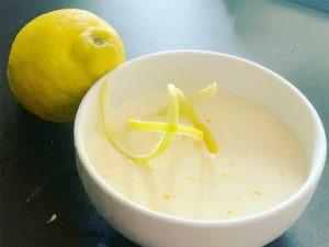 Mouse de limón asador el brasero