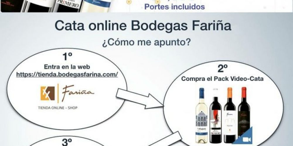 Bodegas Fariña proposes a virtual tasting for next Saturday