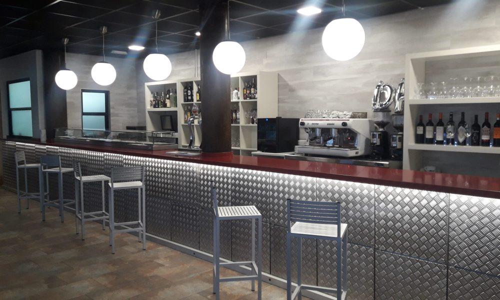 barra de un bar