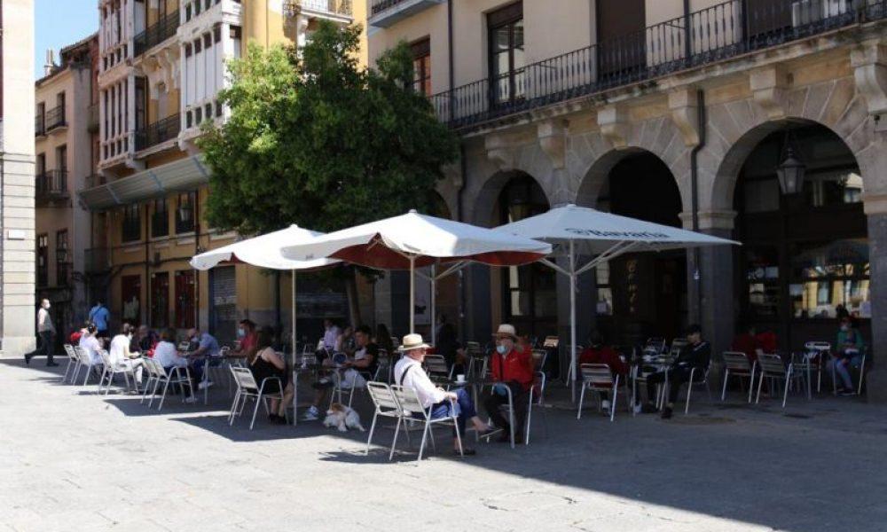 Terraza plaza mayor Zamora