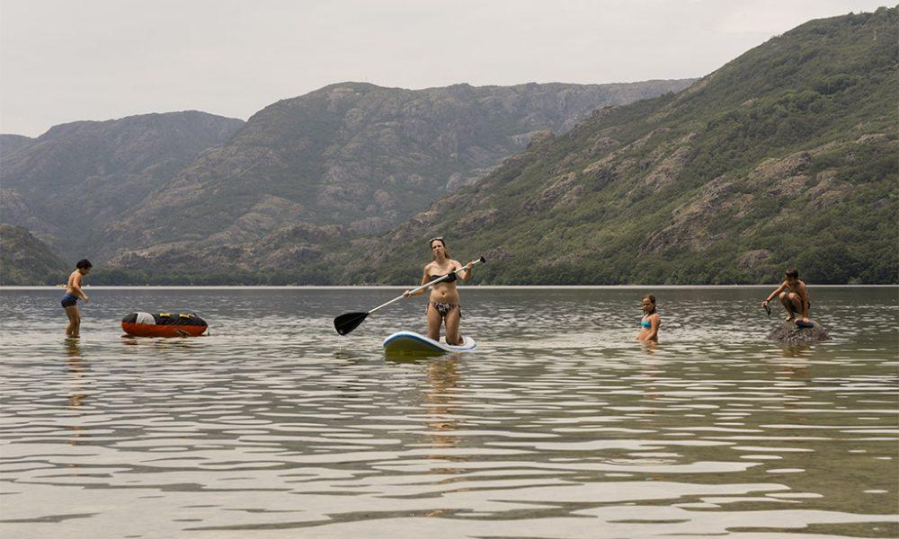 Paddle Surf en el lago de Sanabria