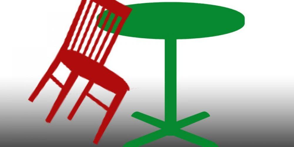 Making work easier for terrace waiters