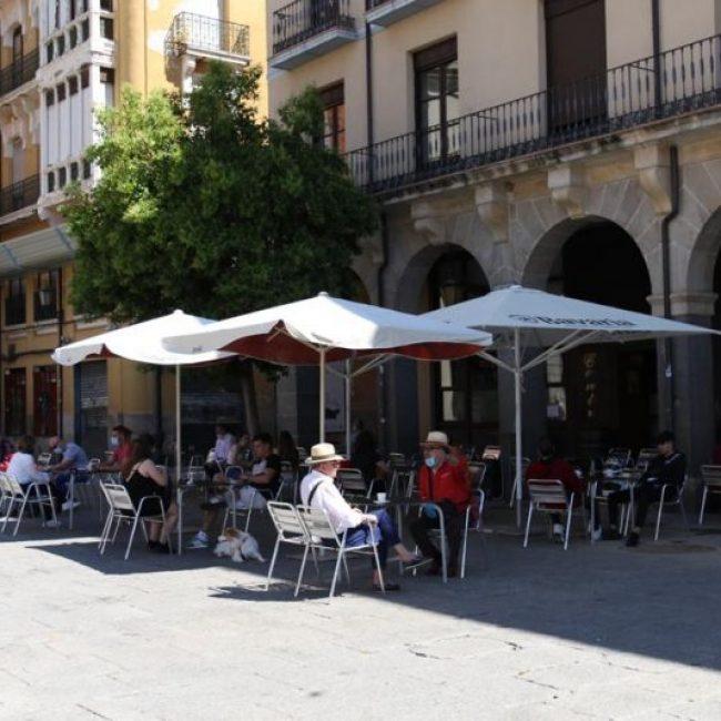 Las terrazas regresan a Zamora