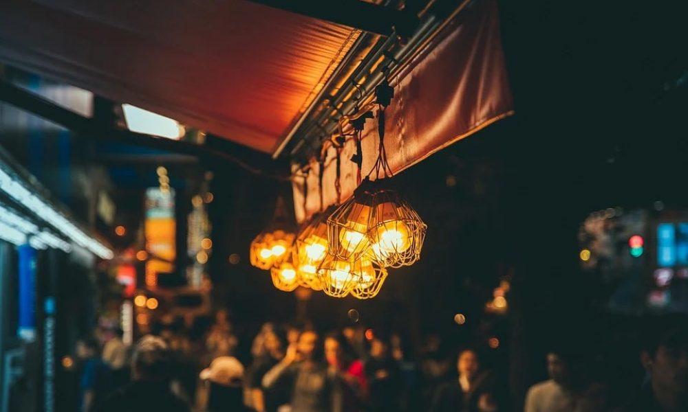 Interior de un bar