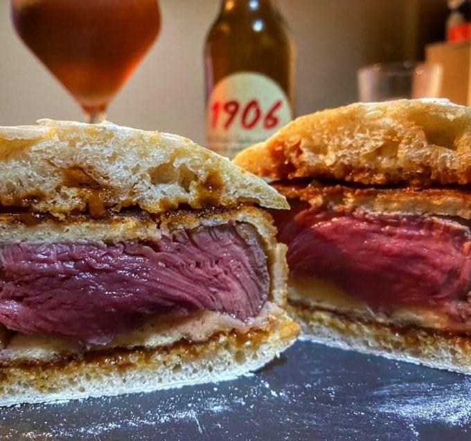 Sándwich de Solomillo.