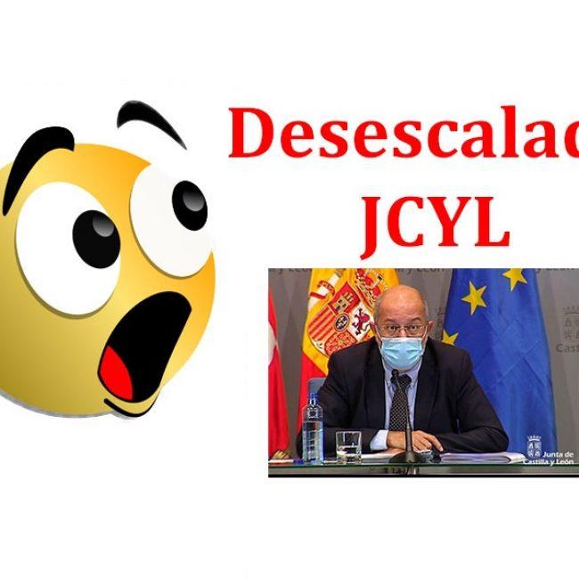 Criterio de desescalada de la Junta de Castilla y León, ¿alguien se aclara?