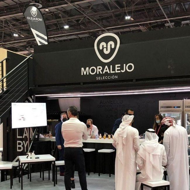 Moralejo Selección en Gulfood 2021 en el Dubái World Trade Center