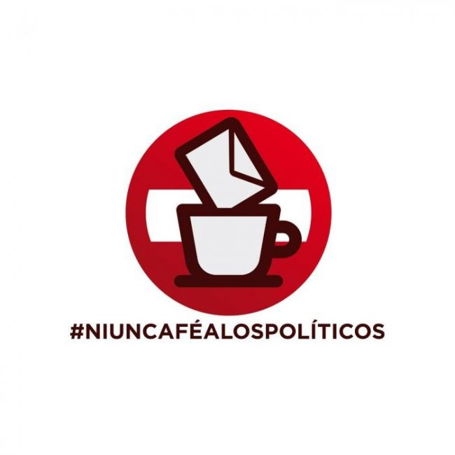 Ni un café a los políticos una plataforma que Zamorana