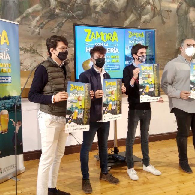 Zamora con la Hostelería, campaña del Consejo Local de la Juventud