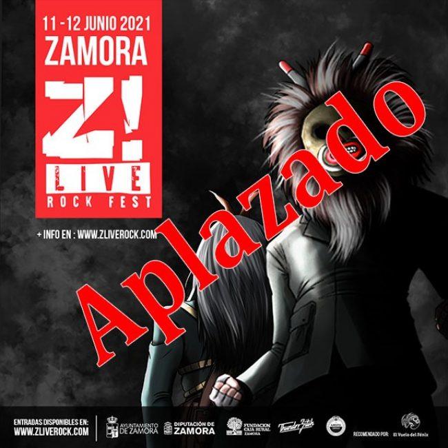 El festival Z-Live 2021 aplazado una vez más.