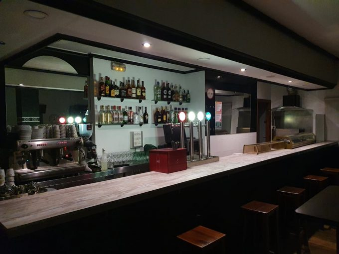 Café Dark Valhalla interior