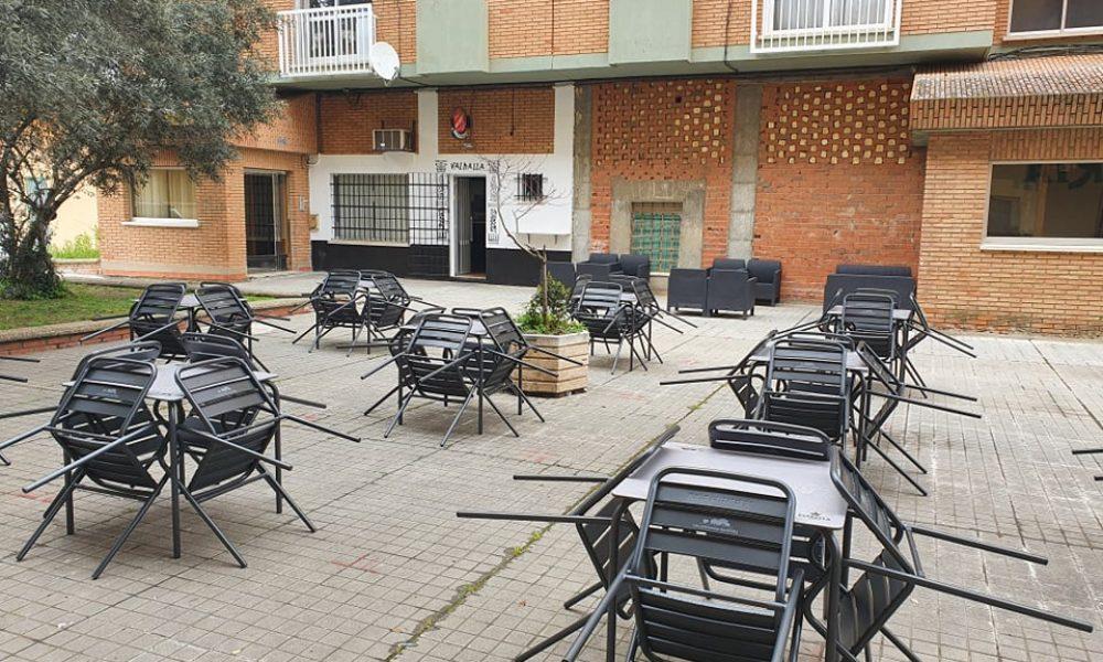 Café Dark Valhalla Terraza