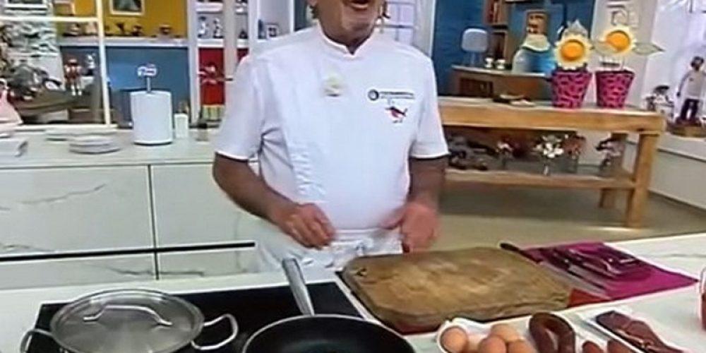 Karlos Arguiñano destaca el chorizo zamorano de Belver de los Montes