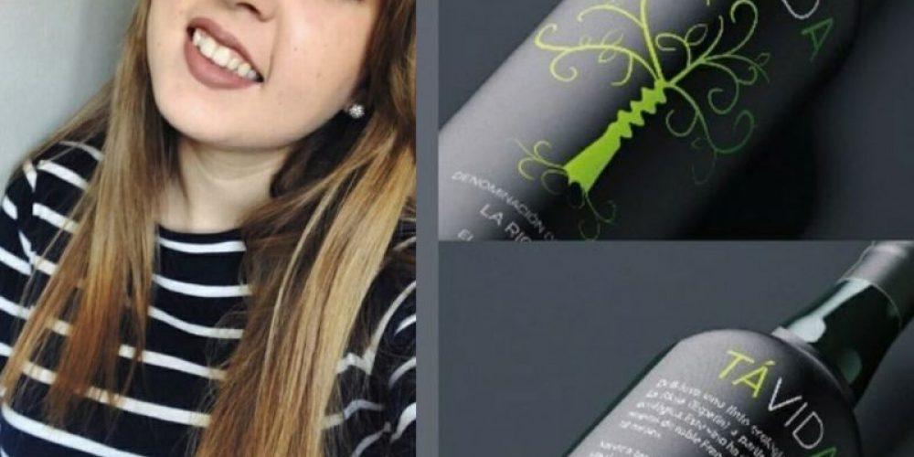 Laura Barroso, Zamorana chosen as finalist of the 2020 National Wine Label Contest