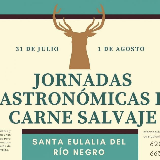 Jornadas Gastronómicas de Carne Salvaje en Santa Eulalia de Rio Negro