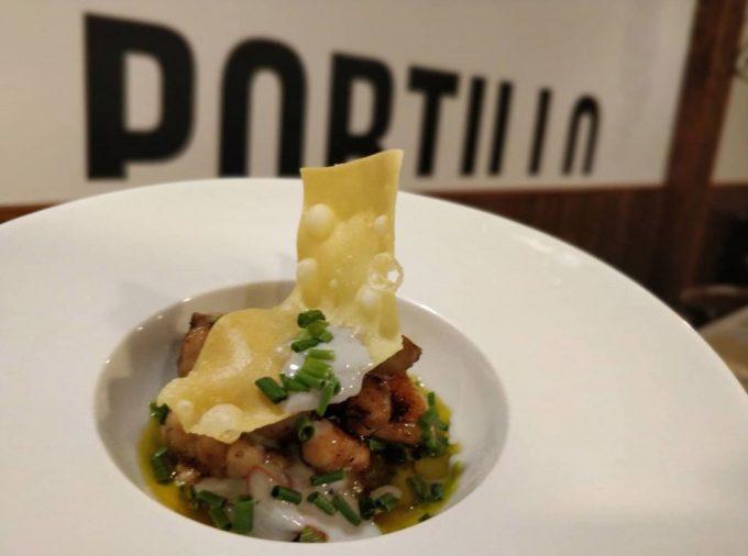 El Portillo restaurante en Zamora Platos