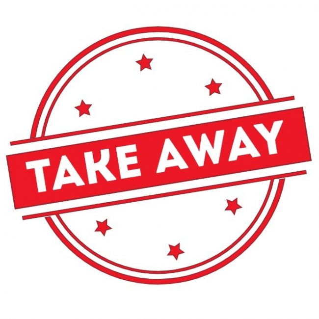 Comida para llevar o Take Away, ayúdanos con la lista en Zamora.