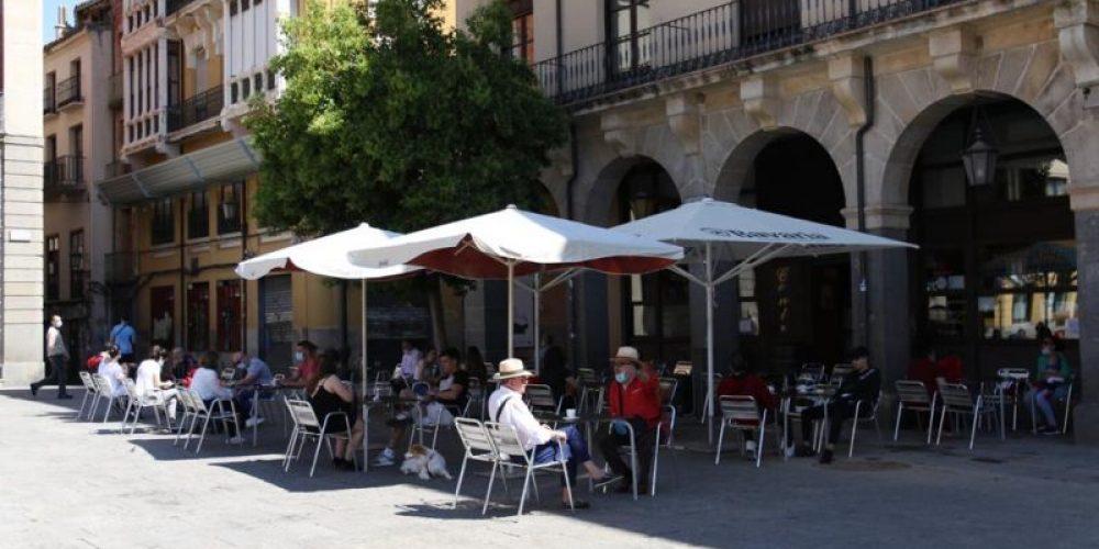 The terraces return to Zamora