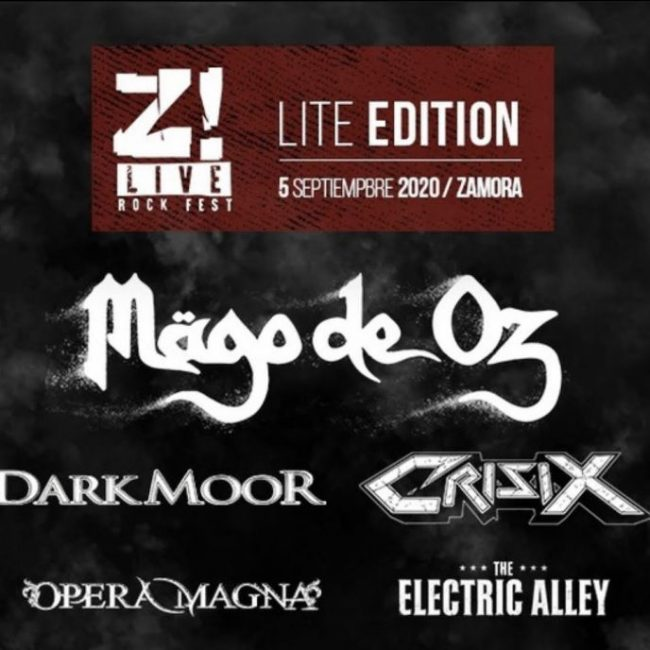 """El Z! Live Fest amplía su cartel para el 2021, confirma el """"Lite Edition"""" para septiembre 2020."""